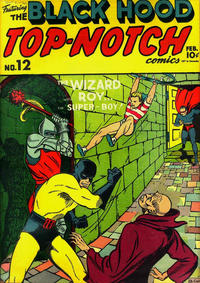 Cover Thumbnail for Top Notch Comics (Archie, 1939 series) #12