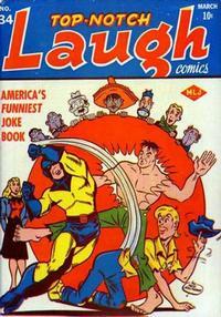 Cover Thumbnail for Top Notch Laugh Comics (Archie, 1942 series) #34
