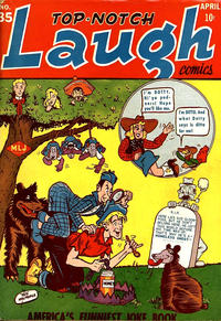 Cover Thumbnail for Top Notch Laugh Comics (Archie, 1942 series) #35