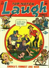 Cover Thumbnail for Top Notch Laugh Comics (Archie, 1942 series) #37