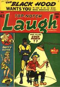 Cover Thumbnail for Top Notch Laugh Comics (Archie, 1942 series) #42