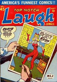 Cover Thumbnail for Top Notch Laugh Comics (Archie, 1942 series) #45