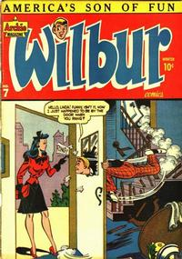 Cover Thumbnail for Wilbur Comics (Archie, 1944 series) #7