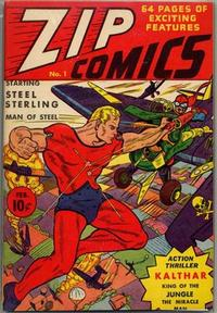 Cover Thumbnail for Zip Comics (Archie, 1940 series) #1