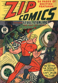 Cover Thumbnail for Zip Comics (Archie, 1940 series) #2