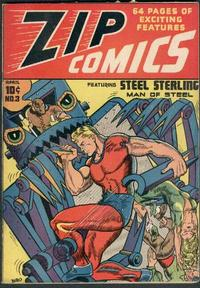 Cover Thumbnail for Zip Comics (Archie, 1940 series) #3