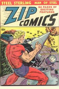 Cover Thumbnail for Zip Comics (Archie, 1940 series) #4