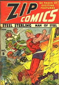 Cover Thumbnail for Zip Comics (Archie, 1940 series) #5