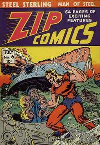 Cover Thumbnail for Zip Comics (Archie, 1940 series) #6