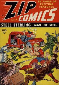 Cover Thumbnail for Zip Comics (Archie, 1940 series) #7