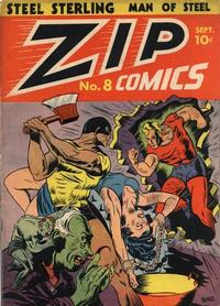 Cover Thumbnail for Zip Comics (Archie, 1940 series) #8