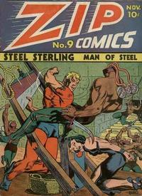 Cover Thumbnail for Zip Comics (Archie, 1940 series) #9