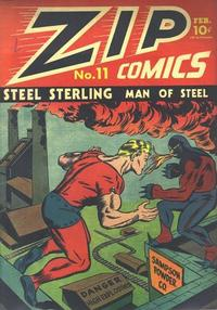 Cover Thumbnail for Zip Comics (Archie, 1940 series) #11