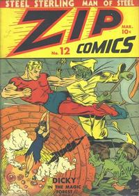 Cover Thumbnail for Zip Comics (Archie, 1940 series) #12