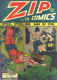 Cover Thumbnail for Zip Comics (Archie, 1940 series) #13