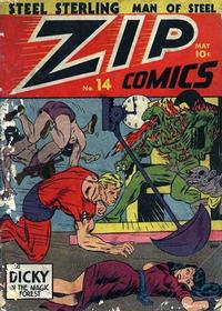 Cover Thumbnail for Zip Comics (Archie, 1940 series) #14
