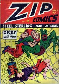 Cover Thumbnail for Zip Comics (Archie, 1940 series) #15