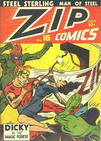 Cover Thumbnail for Zip Comics (Archie, 1940 series) #16