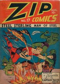 Cover Thumbnail for Zip Comics (Archie, 1940 series) #17