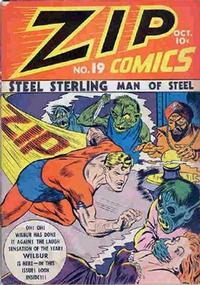 Cover Thumbnail for Zip Comics (Archie, 1940 series) #19