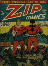 Cover Thumbnail for Zip Comics (Archie, 1940 series) #20