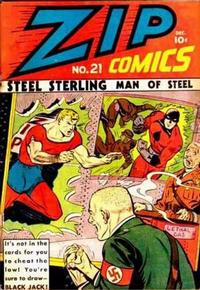 Cover Thumbnail for Zip Comics (Archie, 1940 series) #21