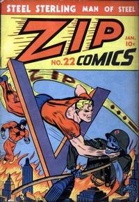 Cover Thumbnail for Zip Comics (Archie, 1940 series) #22