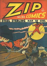 Cover Thumbnail for Zip Comics (Archie, 1940 series) #23