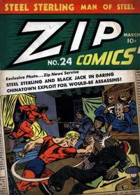 Cover Thumbnail for Zip Comics (Archie, 1940 series) #24