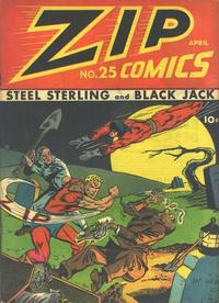 Cover Thumbnail for Zip Comics (Archie, 1940 series) #25