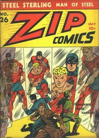 Cover Thumbnail for Zip Comics (Archie, 1940 series) #26