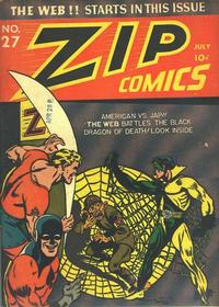 Cover Thumbnail for Zip Comics (Archie, 1940 series) #27