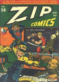 Cover Thumbnail for Zip Comics (Archie, 1940 series) #28