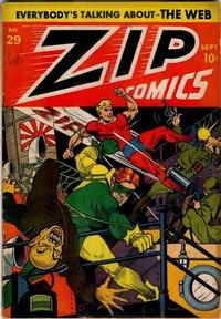 Cover Thumbnail for Zip Comics (Archie, 1940 series) #29