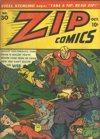 Cover Thumbnail for Zip Comics (Archie, 1940 series) #30