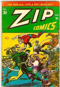 Cover Thumbnail for Zip Comics (Archie, 1940 series) #31
