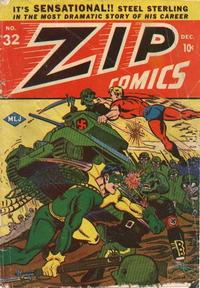 Cover Thumbnail for Zip Comics (Archie, 1940 series) #32