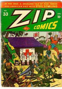 Cover Thumbnail for Zip Comics (Archie, 1940 series) #33