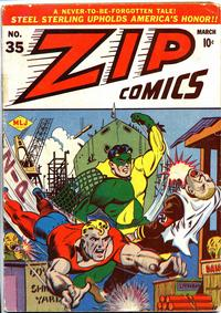 Cover Thumbnail for Zip Comics (Archie, 1940 series) #35