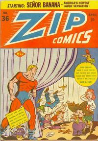 Cover Thumbnail for Zip Comics (Archie, 1940 series) #36