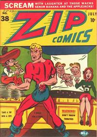 Cover Thumbnail for Zip Comics (Archie, 1940 series) #38