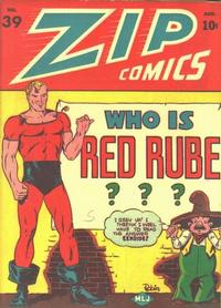 Cover Thumbnail for Zip Comics (Archie, 1940 series) #39
