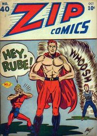 Cover Thumbnail for Zip Comics (Archie, 1940 series) #40