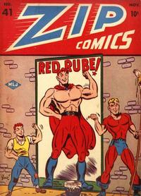 Cover Thumbnail for Zip Comics (Archie, 1940 series) #41
