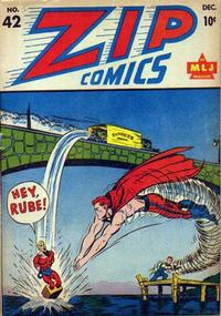 Cover Thumbnail for Zip Comics (Archie, 1940 series) #42