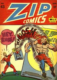 Cover Thumbnail for Zip Comics (Archie, 1940 series) #43