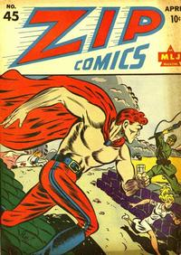 Cover Thumbnail for Zip Comics (Archie, 1940 series) #45