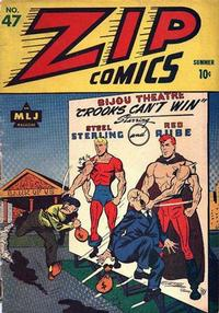 Cover Thumbnail for Zip Comics (Archie, 1940 series) #47