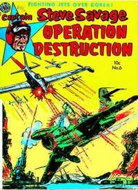 Cover Thumbnail for Captain Steve Savage (Avon, 1950 series) #6