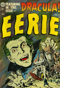 Cover Thumbnail for Eerie (Avon, 1951 series) #12